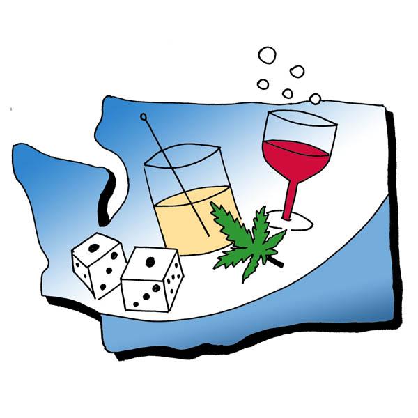 Liquor course icon