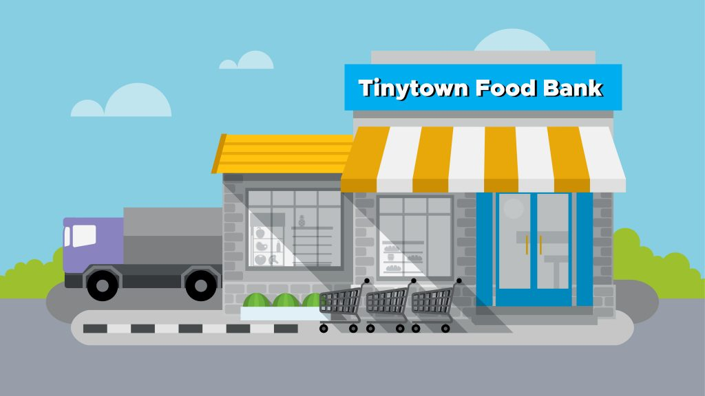 Tinytown food bank